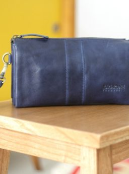 PLATINE Pouch On Blue Navy